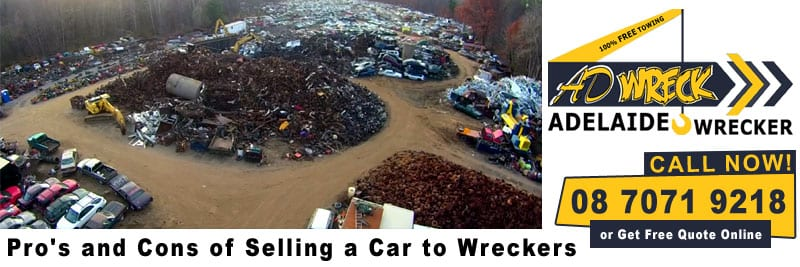 Advantages of Selling Your Car to the Wreckers Rather Than Other Alternatives