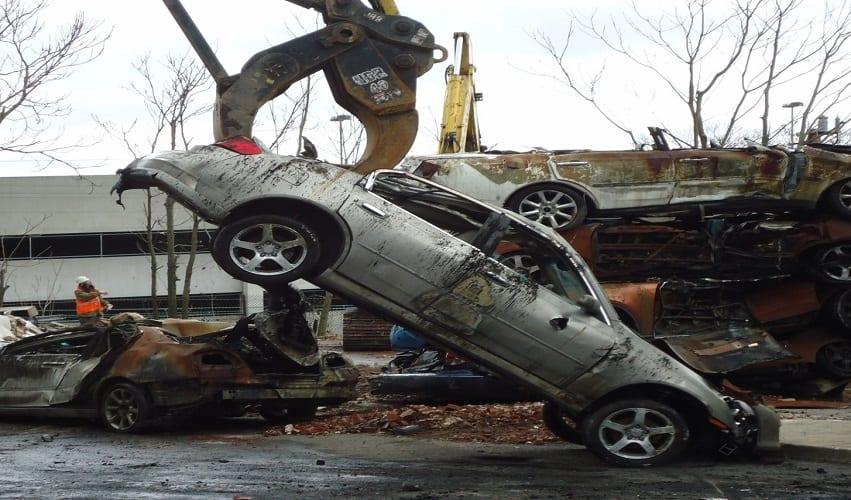 Demolish your vehicle